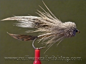 Muddler minnow, Classic trout flies, sculpin imitation,