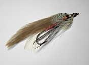 Grey ghost traditional streamer pattern